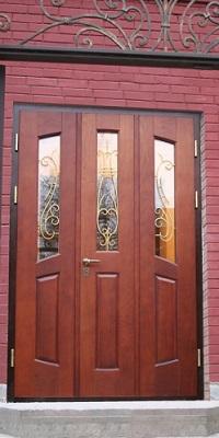 дешевые стальные двери на дачу