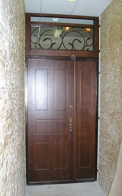 железные двери коридорные дешево