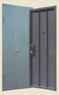 железные двери в тамбур недорого