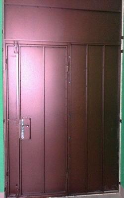 двери металлические сталь м