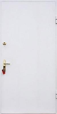 дверь входная с порошковым напылением белая