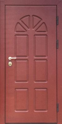 дверь металлическая с пвх
