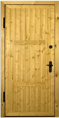Двери деревянные входные для дачи своими руками