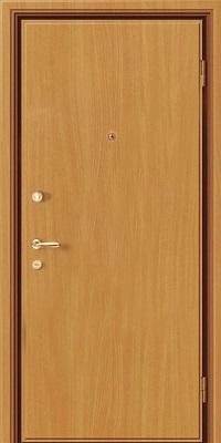 двери металлические входные ламинированные распашные установка