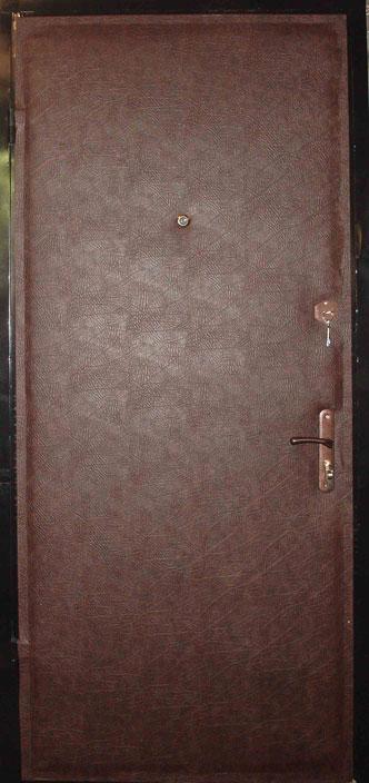 двери металлические кожа