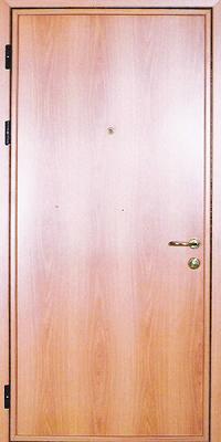 металлические ламинированные двери недорого