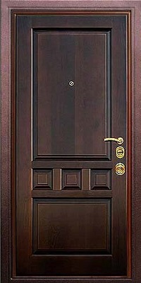 двери металлические с отделкой мдф цена