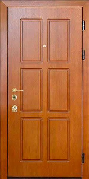 входные двери с мдф шпон