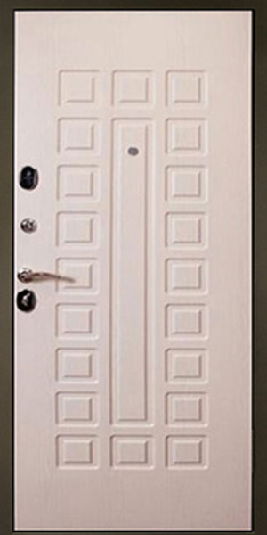 входные белые двери мдф