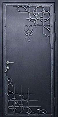 входные двери порошковые с ковкой в одинцово